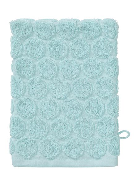 wash mitt - heavy quality - light green dot mint green wash mitt - 5200065 - hema