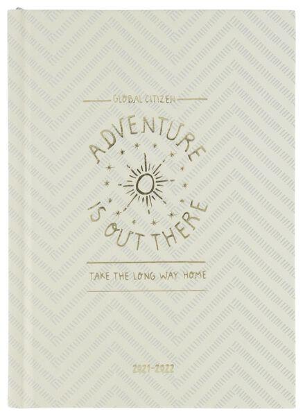 Schülerkalender 2021-2022, Tageskalender, Adventure, 17.2 x 12.5 cm - 14500527 - HEMA