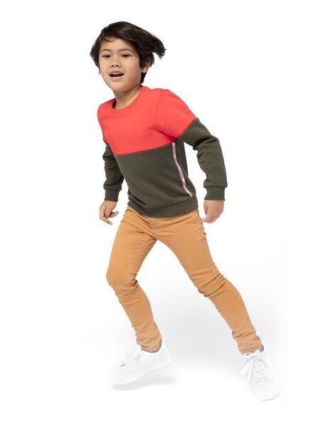 Kinder-Sweatshirt rot rot - 1000016736 - HEMA