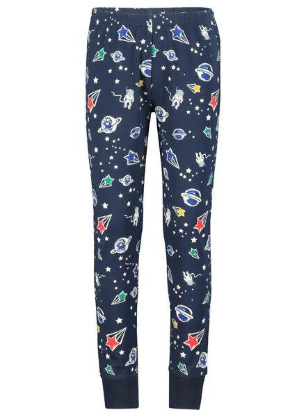 Kinder-Pyjama dunkelblau dunkelblau - 1000016859 - HEMA