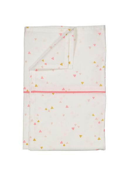 sheet crib 80x100 - pink - 33348242 - hema