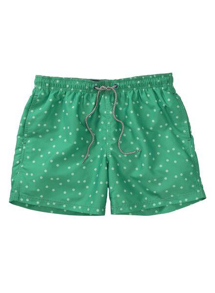 men's swimming shorts green green - 1000007227 - hema