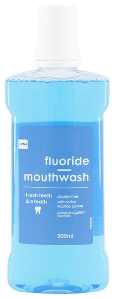 mouthwash fluoride - 500 ml - 11133360 - hema