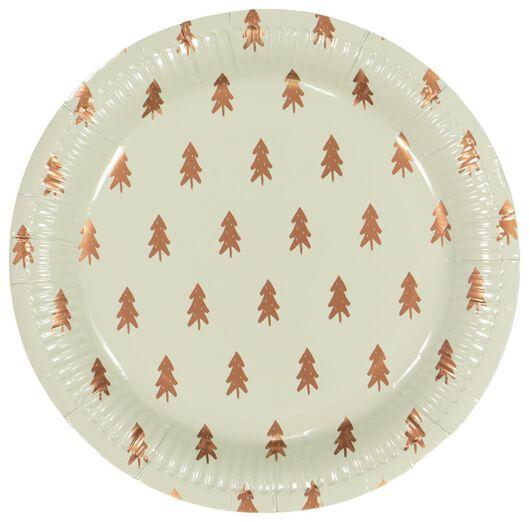 Image of HEMA 10 Paper Plates Ø 22.5 Cm Light Green