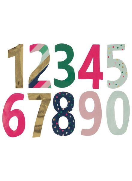 38er-Pack Adventskalender-Aufkleber - 60800777 - HEMA