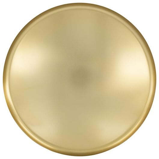 plateau pour bougies Ø39x2,5 métal doré - 13312237 - HEMA