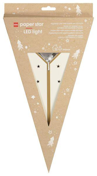 LED-Weihnachtsstern, Ø 68 cm, weiß - 25580012 - HEMA