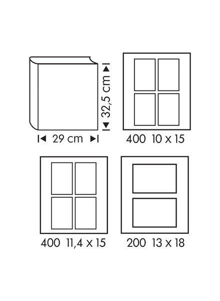 Fotoalbum, 32.5 x 29 cm, rosa - 14633303 - HEMA