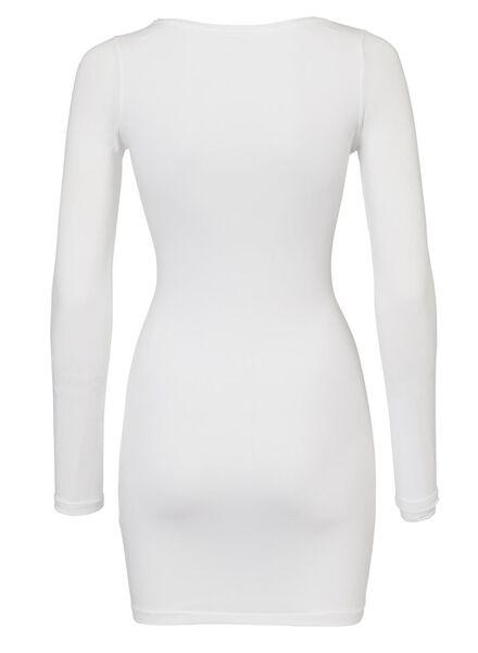 t-shirt femme blanc blanc - 1000005129 - HEMA