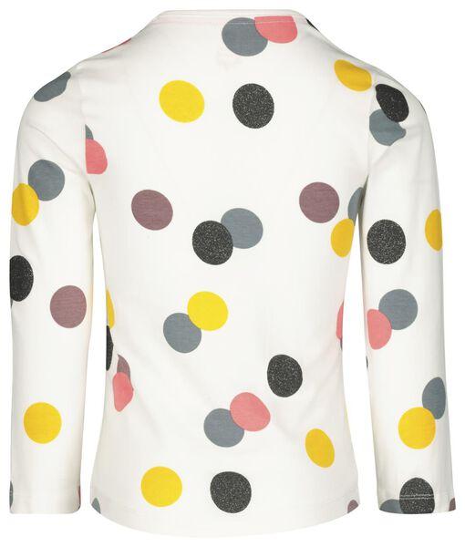 Kinder-Pyjama, Punkte eierschalenfarben eierschalenfarben - 1000020649 - HEMA