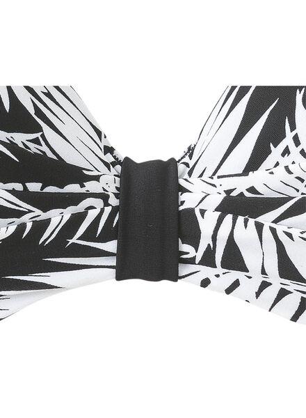 women's bikini top B-E black/white black/white - 1000006612 - hema