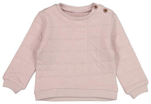 HEMA Baby-Sweatshirt, Gefüttert Lila