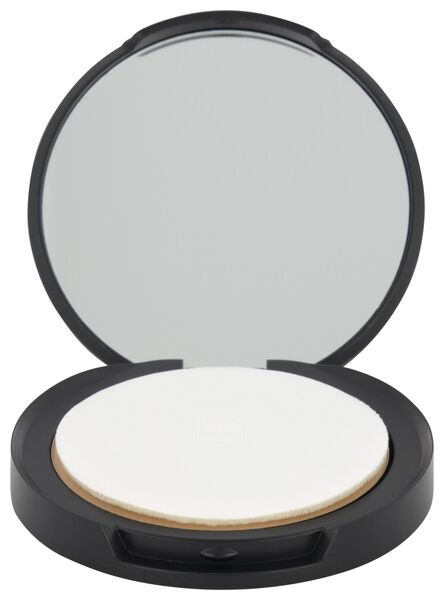 mattifying face powder 08 warm honey - 11290158 - HEMA