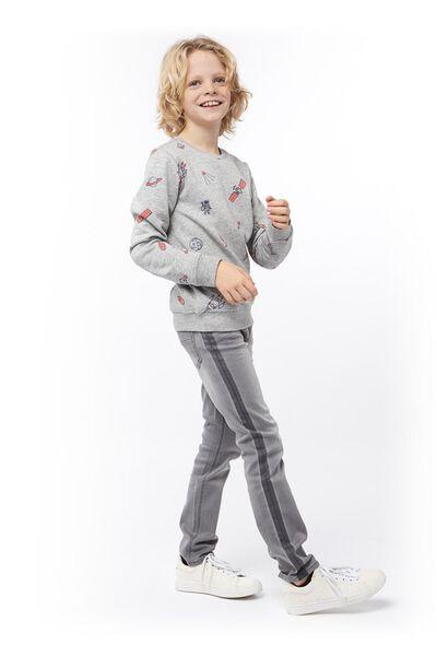 children's sweater grey grey - 1000017679 - hema