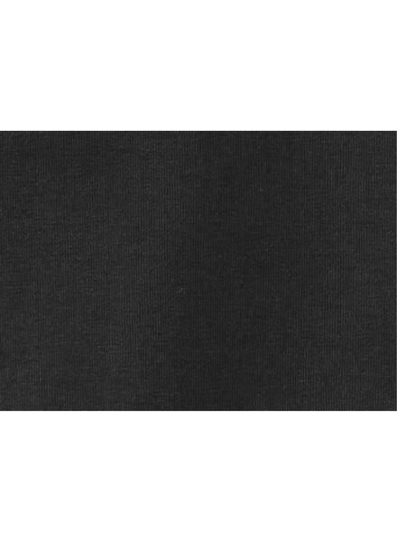 Kinder-T-Shirt, Biobaumwolle schwarz 110/116 - 30729272 - HEMA