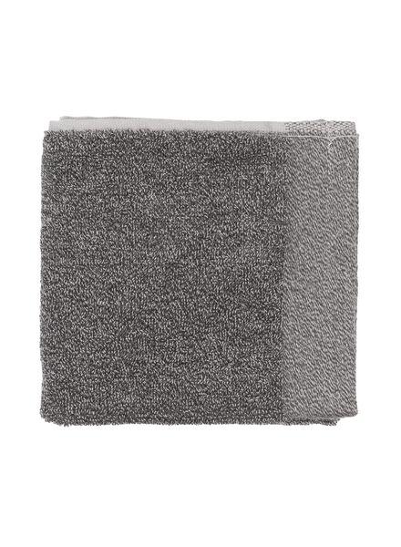 towels - with bamboo dark grey dark grey - 1000015123 - hema