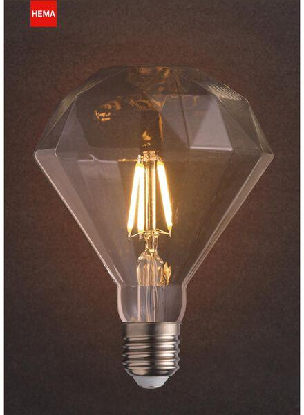 LED-Lampe, 4W, 290Lumen, Diamant, klar - 20020056 - HEMA