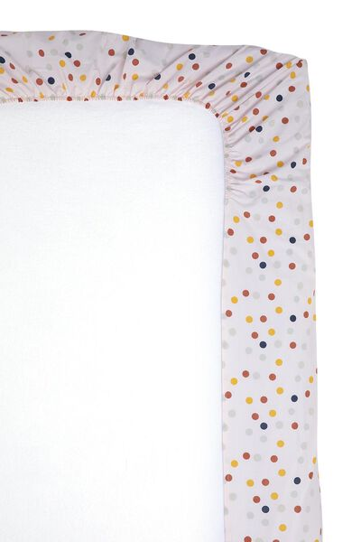 Spannbettlaken, 90 x 200 cm, Soft Cotton, Punkte - 5100182 - HEMA