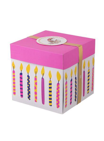 Überraschungs-Schachtel, extragroß, 20 x 20 x 20 cm - 60800617 - HEMA