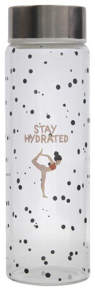 gourde 500ml verre stay hydrated - 61140020 - HEMA