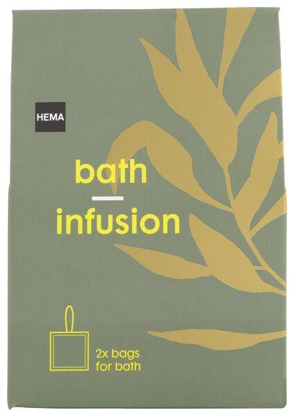2 sachets d'herbes de bain matcha - 11315306 - HEMA