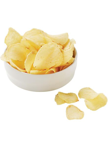 plain ridged potato crisps - 10661126 - hema