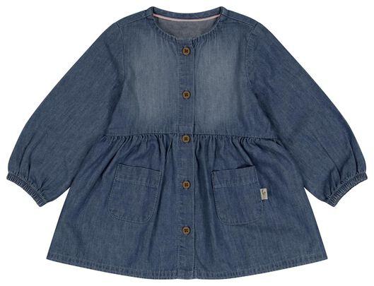 Babykleiderroecke - HEMA Baby Jeanskleid Blau - Onlineshop HEMA