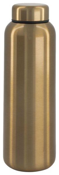 bouteille isotherme 450ml inox double paroi doré - 80640003 - HEMA