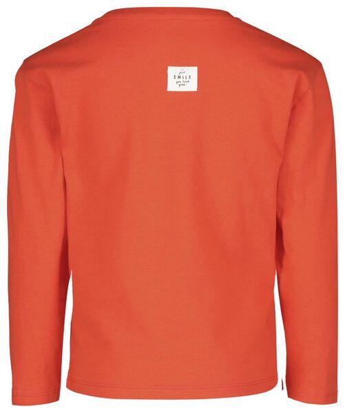 children's T-shirt red red - 1000017849 - hema