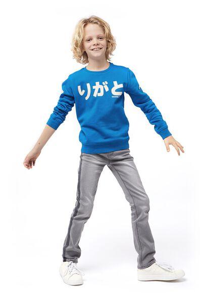 children's sweater blue blue - 1000017712 - hema