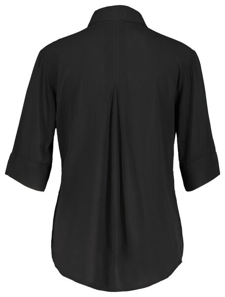 women's blouse black black - 1000019886 - hema