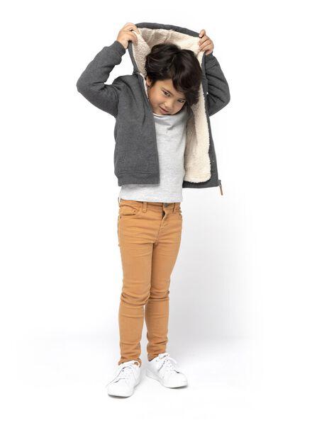 Kinder-Cardigan graumeliert graumeliert - 1000016675 - HEMA