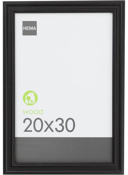 photo frame 20 x 30 cm 20 x 30 black - 13630013 - hema