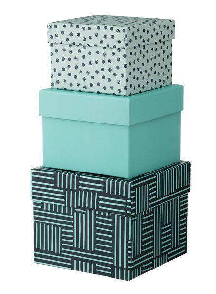3 boîtes en carton - 39870050 - HEMA