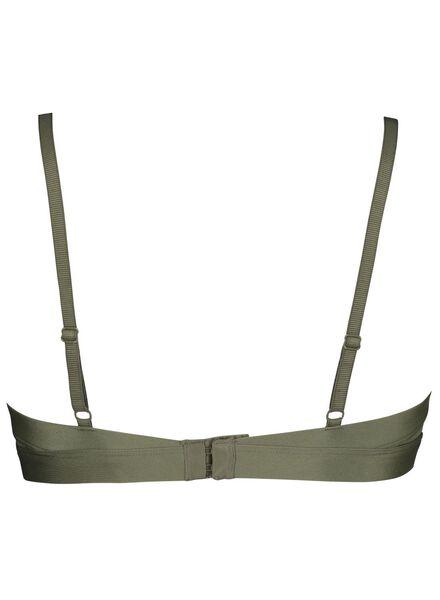 soutien-gorge paddé en mesh vert vert - 1000014573 - HEMA