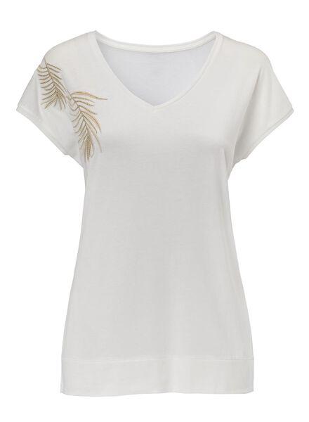 women's T-shirt off-white off-white - 1000007719 - hema