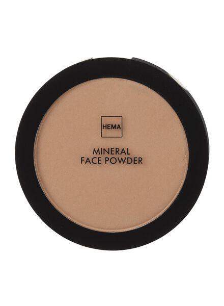 poudre minérale visage warm - 11294304 - HEMA