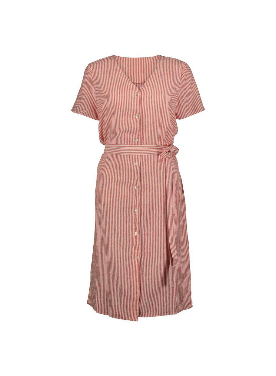 81e13cc802b images women s dress linen red red - 1000013728 - hema