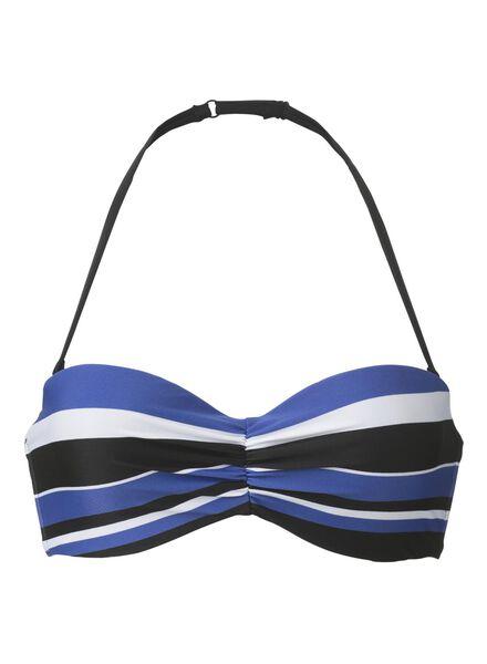 women's bikini top B-D blue blue - 1000006624 - hema