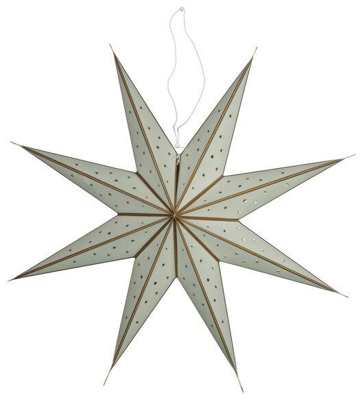 Image of HEMA Christmas Star LED Light Ø68cm Green (light green)