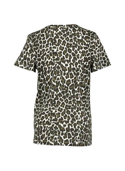 t-shirt femme olive olive - 1000014748 - HEMA