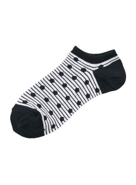 women's ankle socks blue blue - 1000006843 - hema