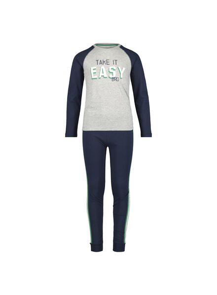 children's pyjamas grey grey - 1000014960 - hema