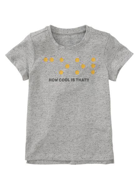 HEMA T-shirt Enfant Gris (gris)