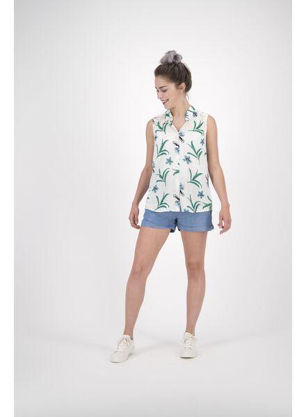 Damen-Bluse weiß weiß - 1000013607 - HEMA
