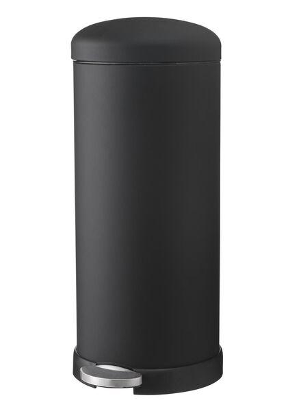 Abfalleimer, 30 Liter, schwarz - 20500042 - HEMA