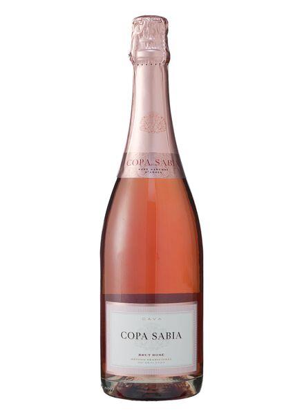 copa sabia cava rosado - 17390712 - HEMA