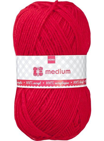 fil à tricoter medium - 1400045 - HEMA