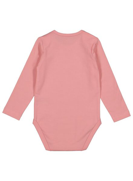Body, Bio-Baumwollstretch rosa rosa - 1000015083 - HEMA