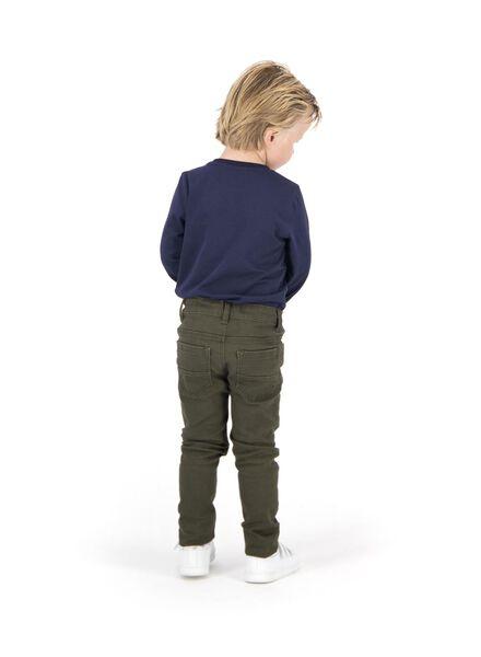Kinder-Skinnyhose dunkelgrün dunkelgrün - 1000014284 - HEMA